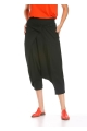 Double Breasted Cut Shalwar - Black