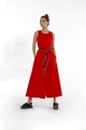 Trotter Detailed Jumpsuit - Red
