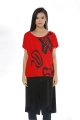Accessory Detailed Blouse - Red